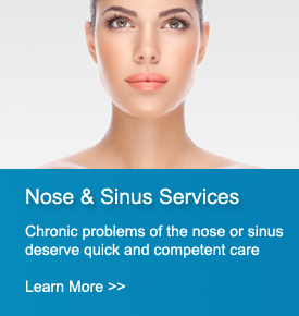 Nose and Sinus Services