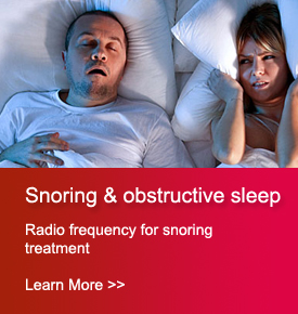 Snoring and obstructive sleep