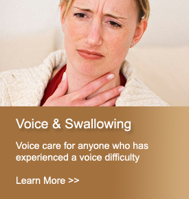 Voice and Swallowing